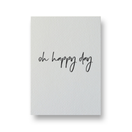 Kaart | oh happy day | Lots of Lo