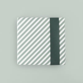Cadeaupapier | stripe diagonal blue | HOP.