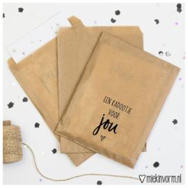 Cadeauzakjes | Kraft - een kadootje voor jou | MIEKinvorm