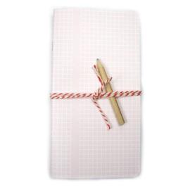 Schrift | basic grid roze | Bl-ij