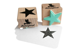 Stempel vierkant | ster | Miss Honeybird