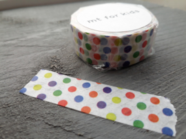 MT masking tape | kid - colorful dot