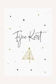 Bloeikaart | Fijne Kerst | Kekootje