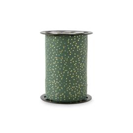 Paporlene lint |petrol gold dots | HOP.