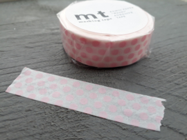 MT masking tape | dot strawberry milk