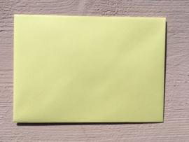 Envelop | 110 x 156 mm EA6 | lichtgeel