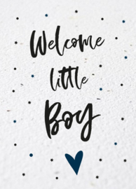 Bloeikaart | Welcome little Boy | Kekootje