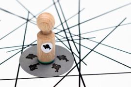 Mini stempel | vis | Miss Honeybird
