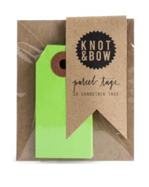 Cadeaukaartjes | lichtgroen | Knot & Bow