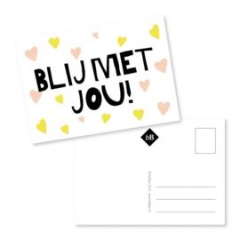 Kaart | Blij met jou! | byBean