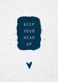 Bloeikaart | Keep your head up | Kekootje