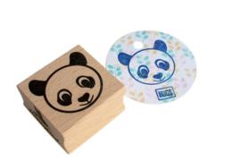Stempel vierkant | panda | Miss Honeybird