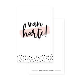 Minikaart | Van harte! | Lizet Beek