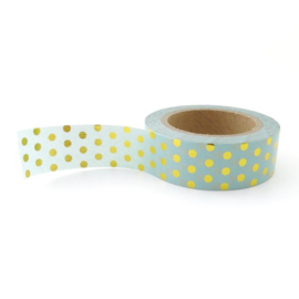 Washi tape | mint goudfolie stip | Studio Stationery