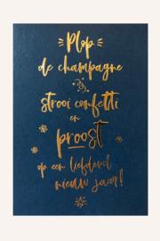 Kaart | Plop de champagne... | Kekootje