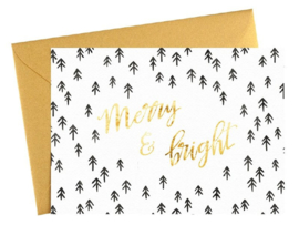 Kaart | Merry & Bright | Dreamkey Design