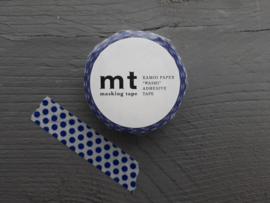 MT masking tape | dot night blue