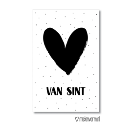 Minikaart   Van Sint   MIEKinvorm