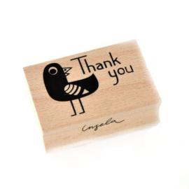 Stempel | Thank you | Ingela