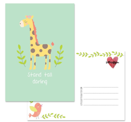 Kaart | Stand tall darling | Little Lefty Lou
