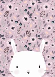 Kaart | bunny pink | Little Vanilla