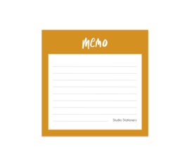 Notitieblokje | Memo | Studio Stationery