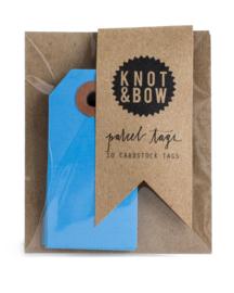 Cadeaukaartjes | blauw | Knot & Bow