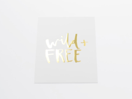Kaart | Wild + Free | Dreamkey Design