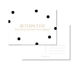 Kaart | Beterschap... | Stationery & Gift