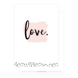Kaart | Love | Lizet Beek
