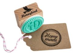 Stempel vierkant | Home made | Miss Honeybird