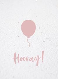Bloeikaart | Hooray! | Kekootje