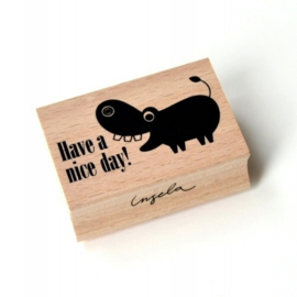 Stempel | Have a nice day! | Ingela