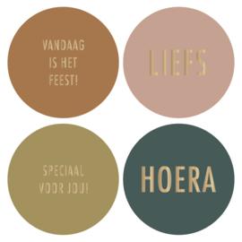Stickers | multi - thema Feest! - najaar 21 | HOP.