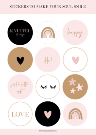 Stickervel | Smile | Stationery & Gift