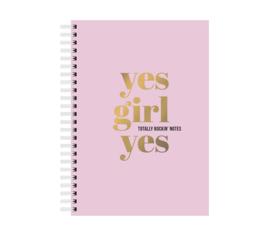 Notitieboek | Yes girl Yes | Studio Stationery