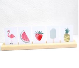 Minikaart | aardbei | MIEKinvorm