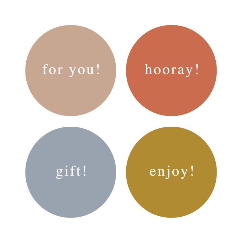 Stickers | feest mix EN | HOP.
