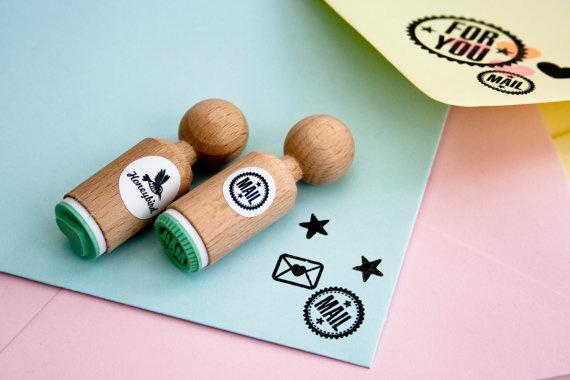 Mini stempel | Mail | Miss Honeybird