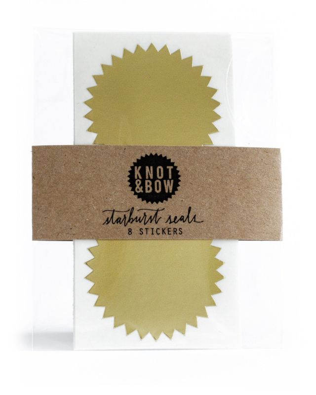 Ster zegel | goud | Knot & Bow