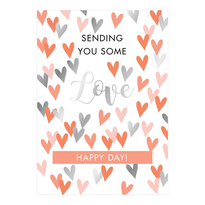 Kaart   Sending you some love   HOP.