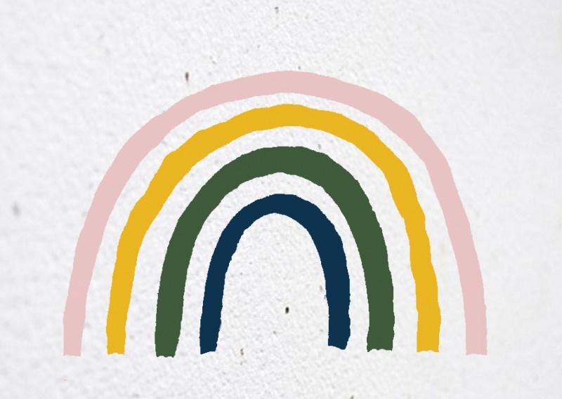 Bloeikaart | Regenboog | Kekootje