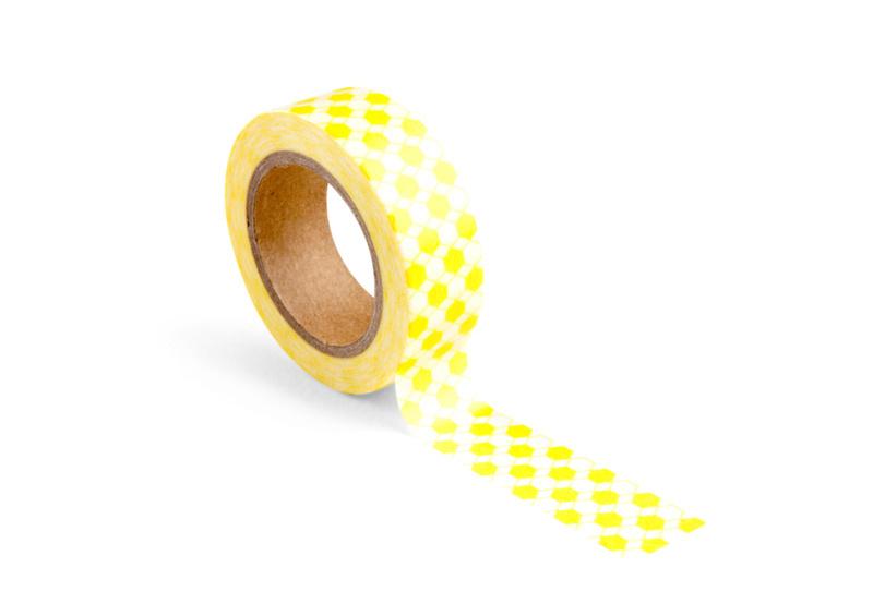 Washi tape | honeycomb yellow | Wowgoods