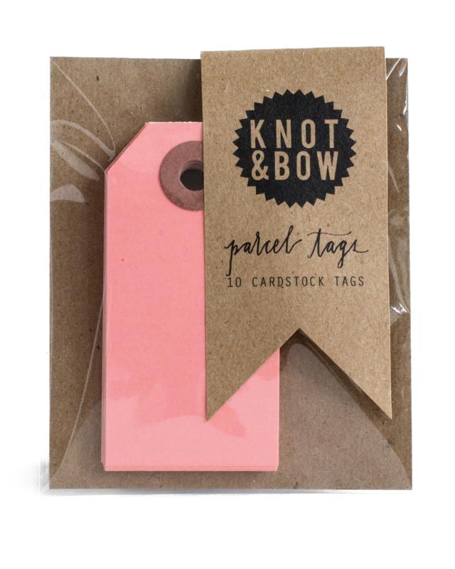 Cadeaukaartjes | roze | Knot & Bow