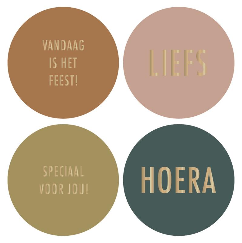 Stickers   multi - thema Feest! - najaar 21   HOP.