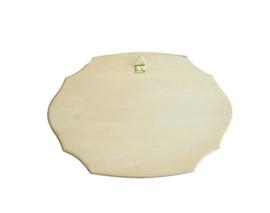 Christelijk tekstbord van hout