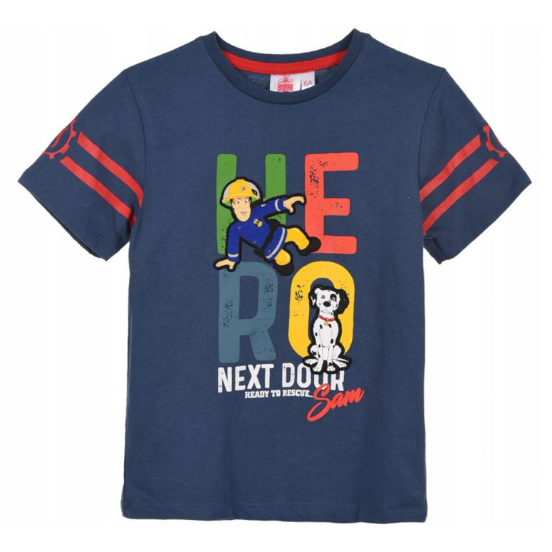 T-shirt Hero blauw