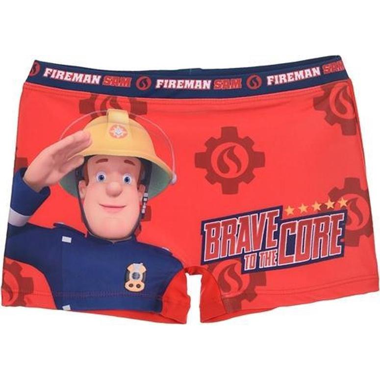 Brandweerman Sam zwembroek rood