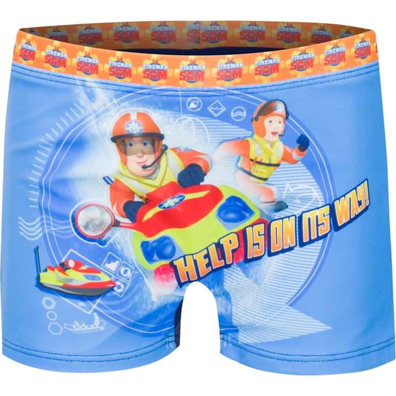 Brandweerman Sam zwembroek (blauw)