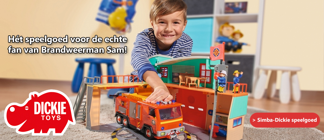 Brandweerman Sam Simba-Dickie speelgoed